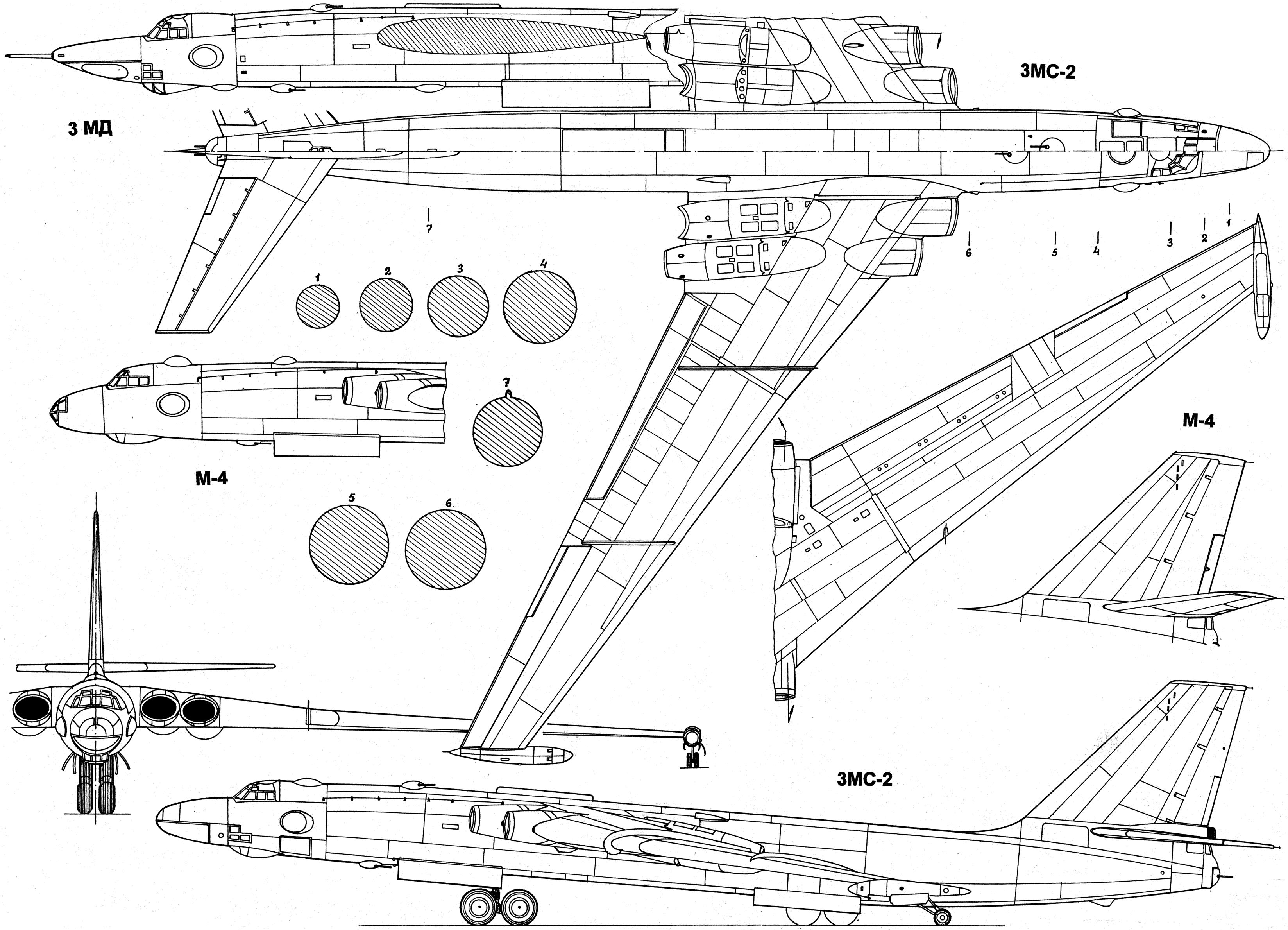 VM-T Atlant blueprint