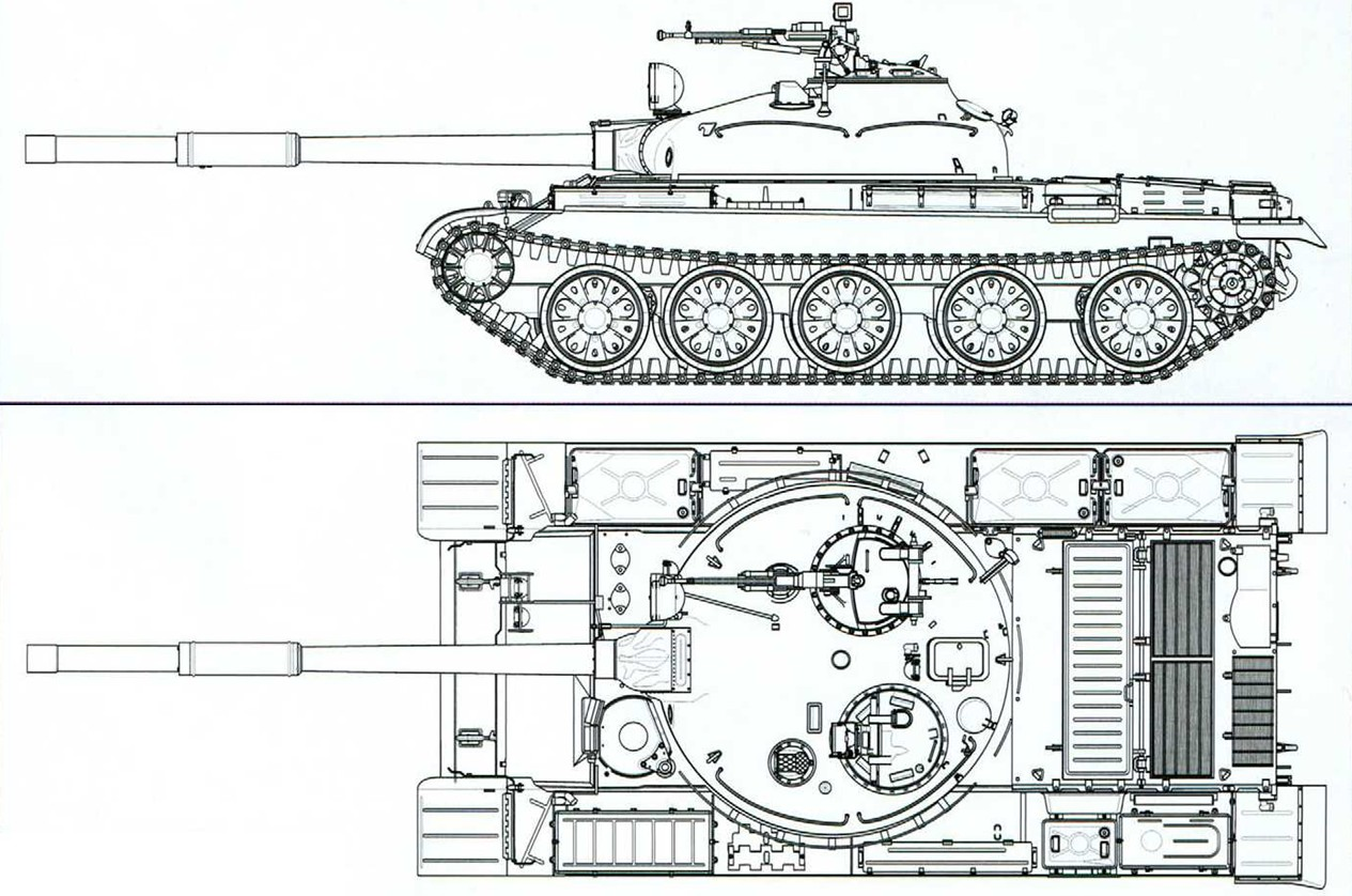 T-62 blueprint