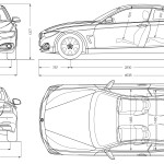 BMW 4 blueprint