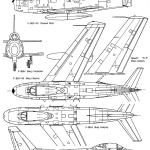 F-86 Sabre blueprint