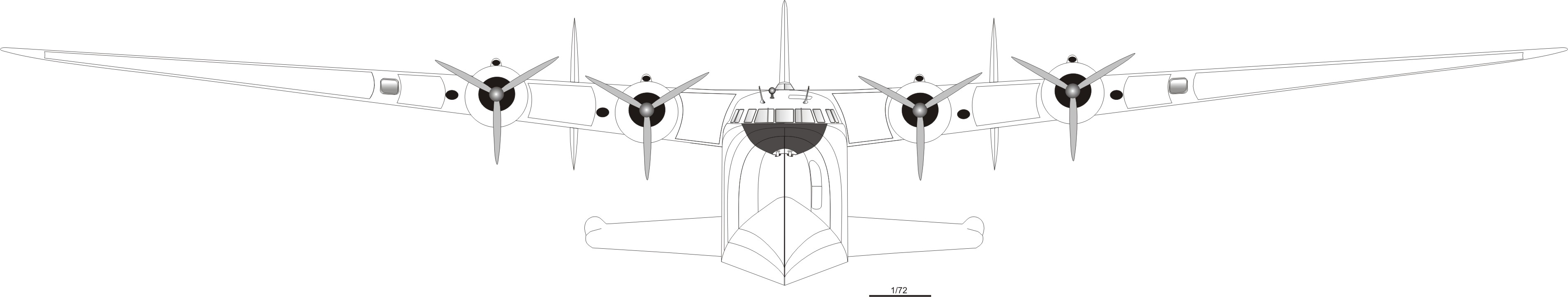 Boeing 314 blueprint