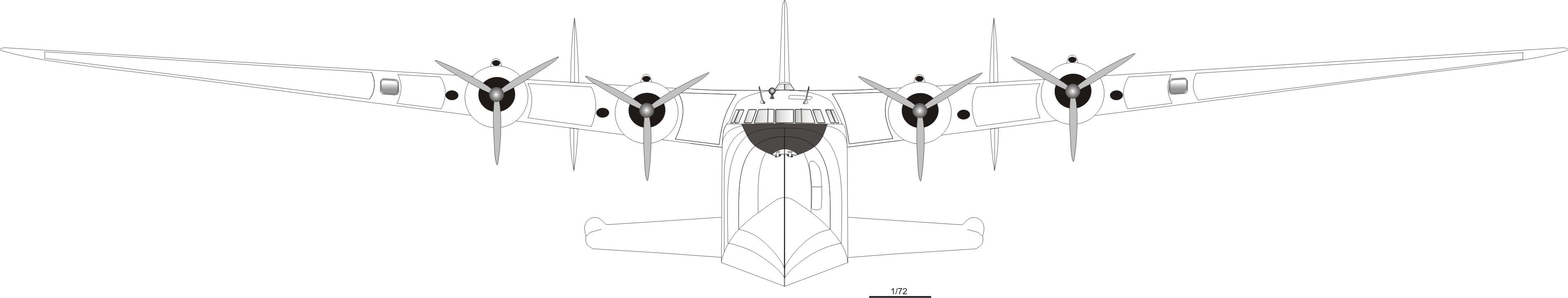 Boeing 314 blueprint