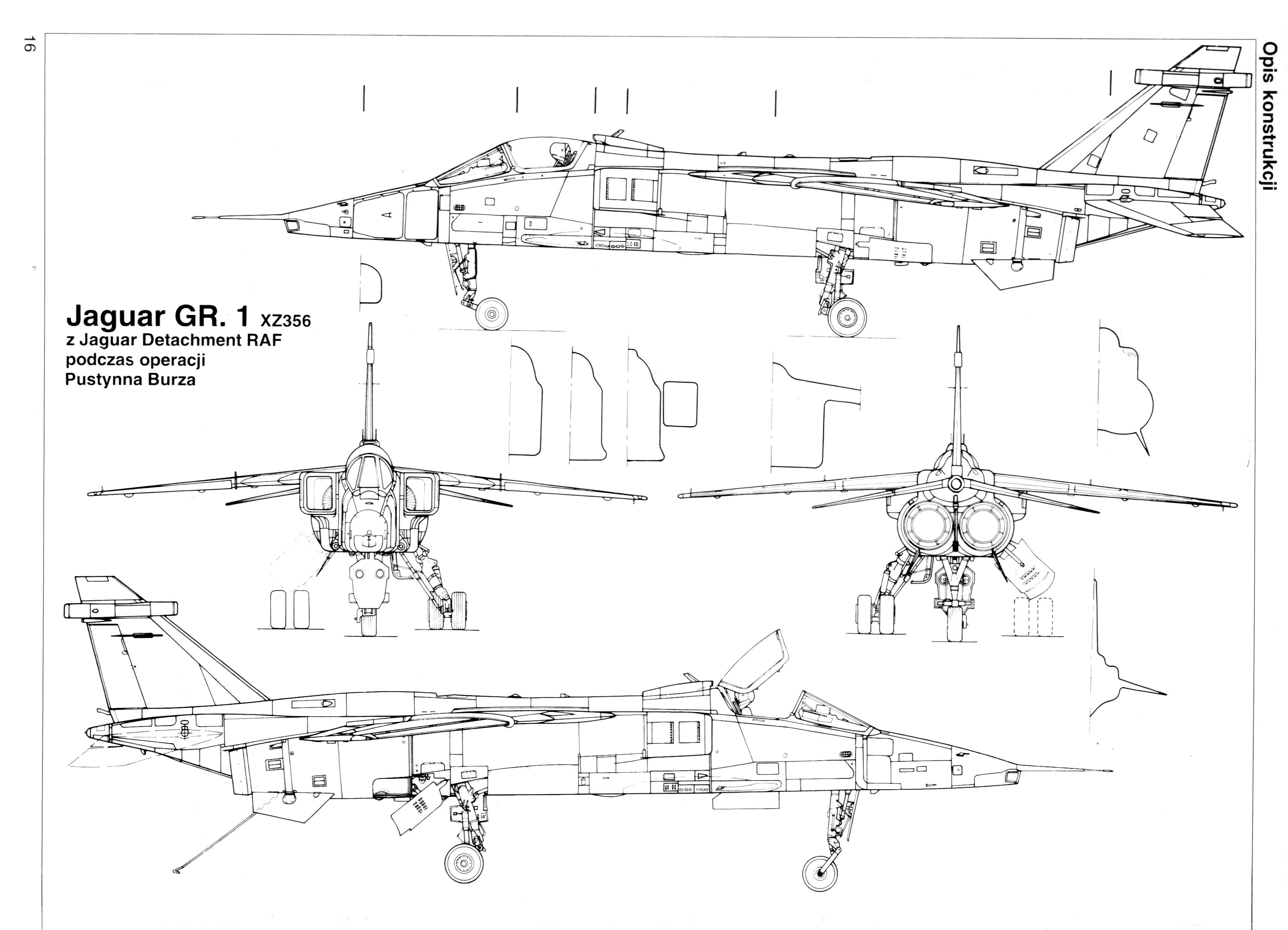 Sepecat Jaguar Gr1 Blueprint Download Free Blueprint For
