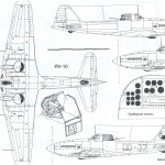 Ilyushin Il-10 blueprint