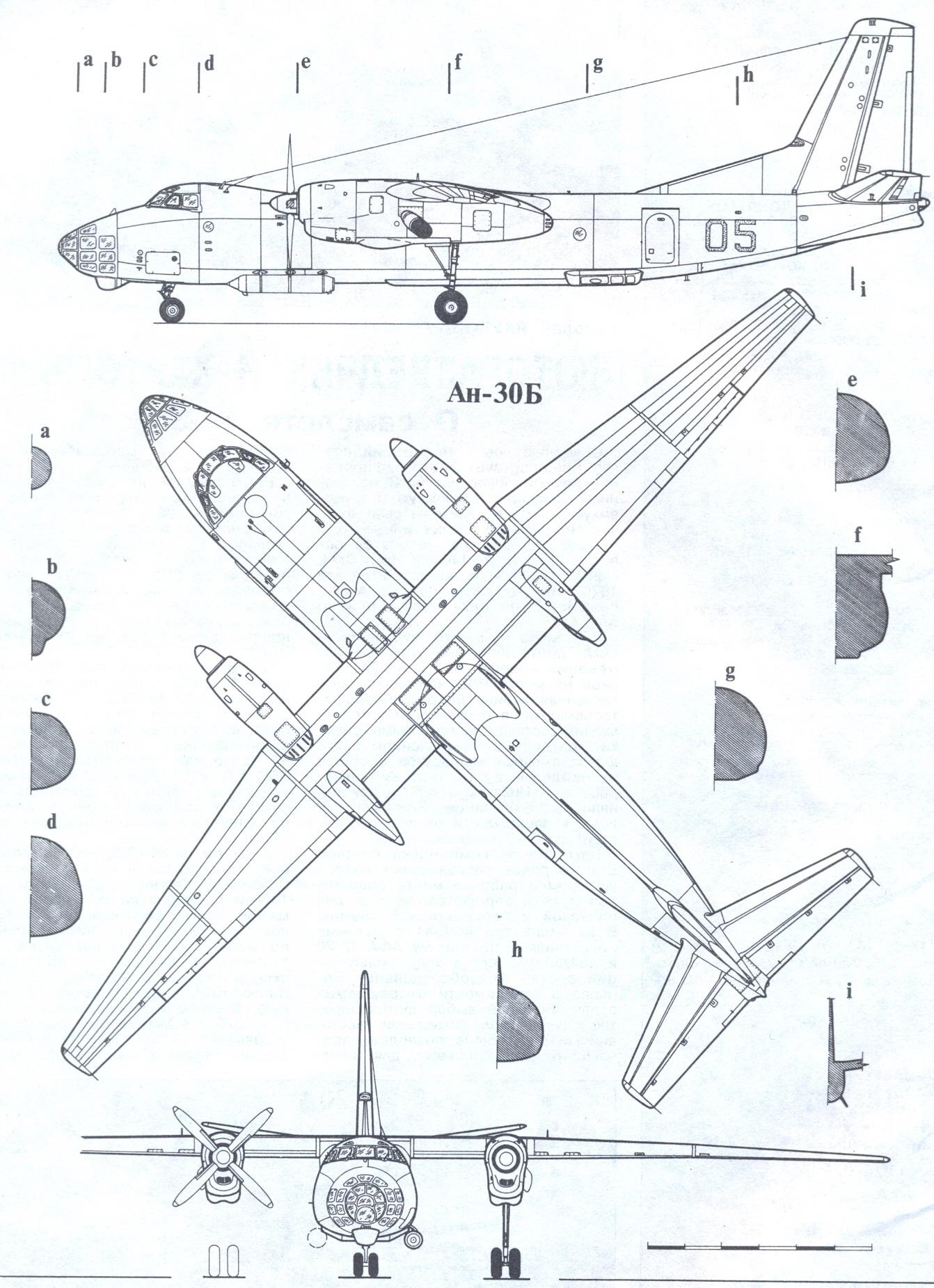 An-30 blueprint