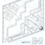 B-2 Spirit blueprint