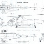 Sikorsky SH-3 Sea King blueprint