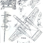 P-61 Black Widow blueprint