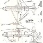 Mil V-12 blueprint