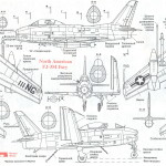 FJ-3 Fury blueprint
