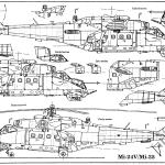 Mi-24 blueprint