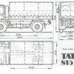 Tatra 815 blueprint