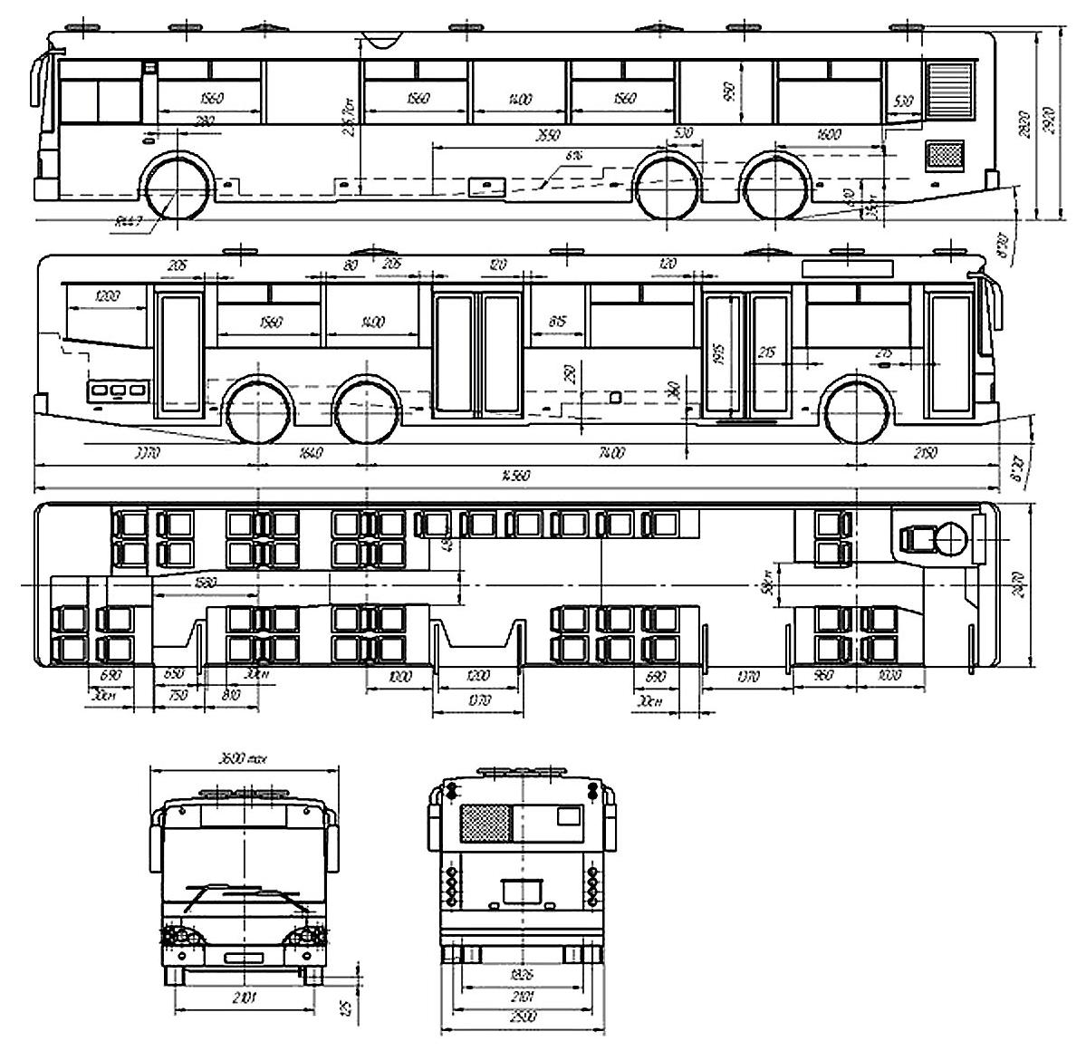 Bohdan A-231 (E-2) blueprint