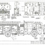 fire truck blueprint