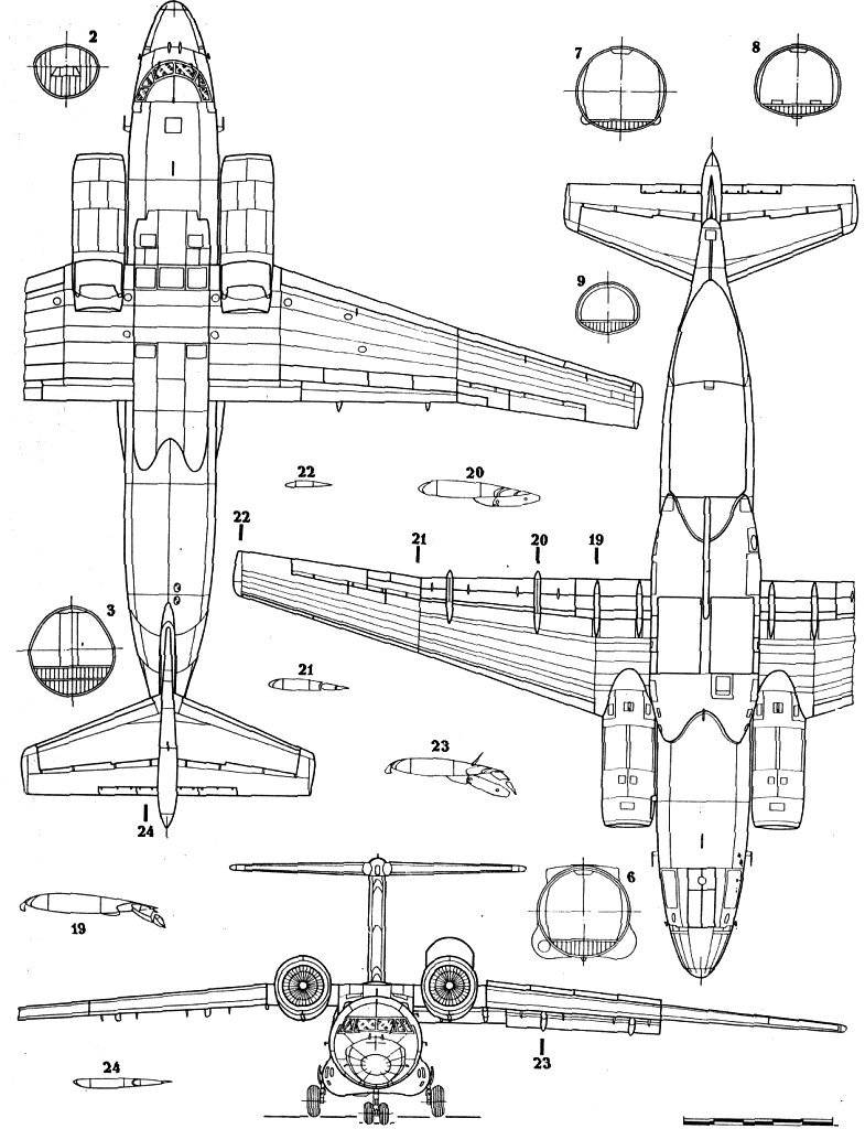 An-72 blueprint
