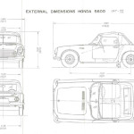 Honda S600 blueprint