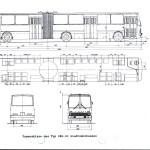 Ikarus 280 blueprint