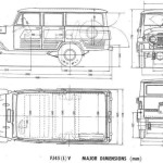 Toyota Land Cruiser FJ45 blueprint