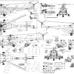 Mi-8 blueprint