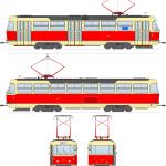 tatra T3 blueprint