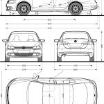 Volkswagen Jetta blueprint