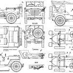 Willys MB blueprints
