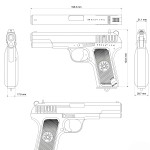 TT pistol blueprint