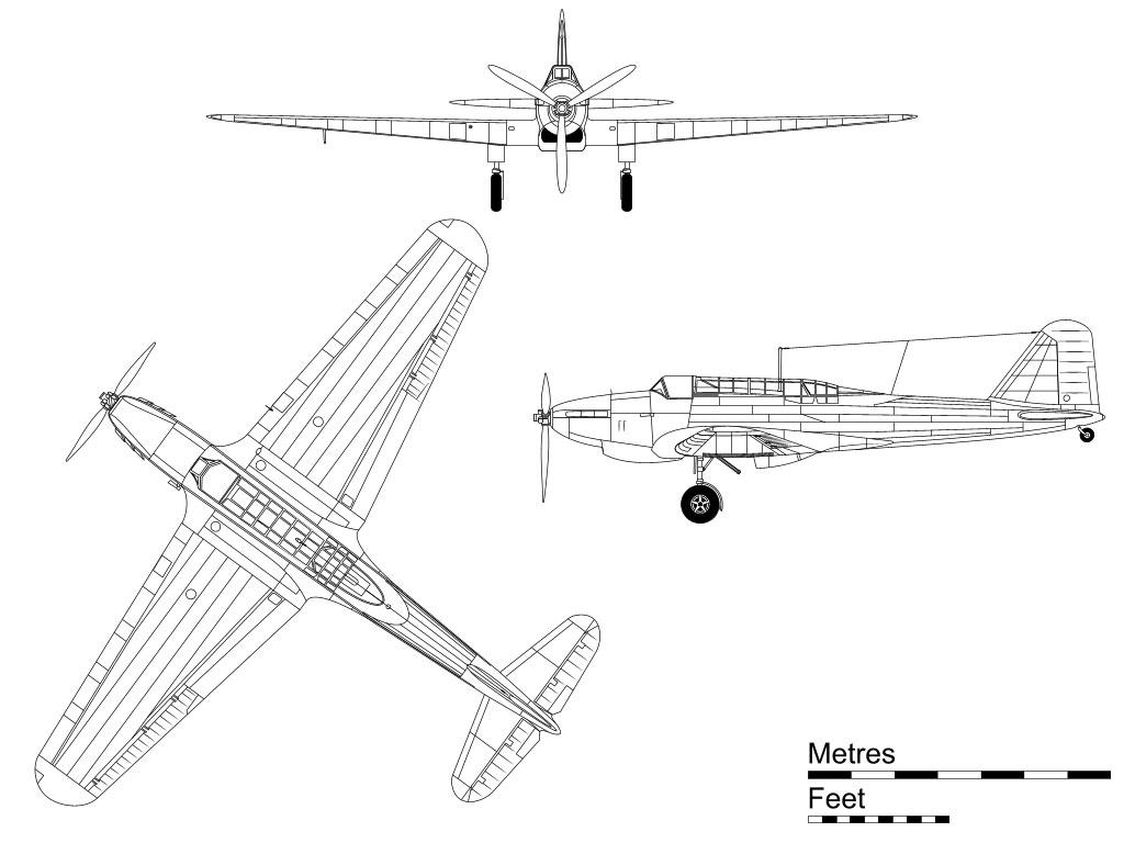 Fairey Battle blueprint