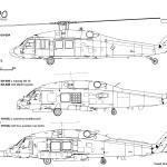 UH-60 Black Hawk blueprint