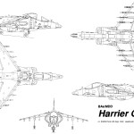 Harrier GR-7 blueprint