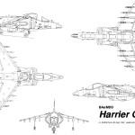 Harrier GR-7 blueprint