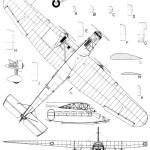 Trimotor blueprint