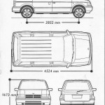 Chrysler Voyager blueprint