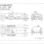 Rolls-Royce Silver Ghost blueprint