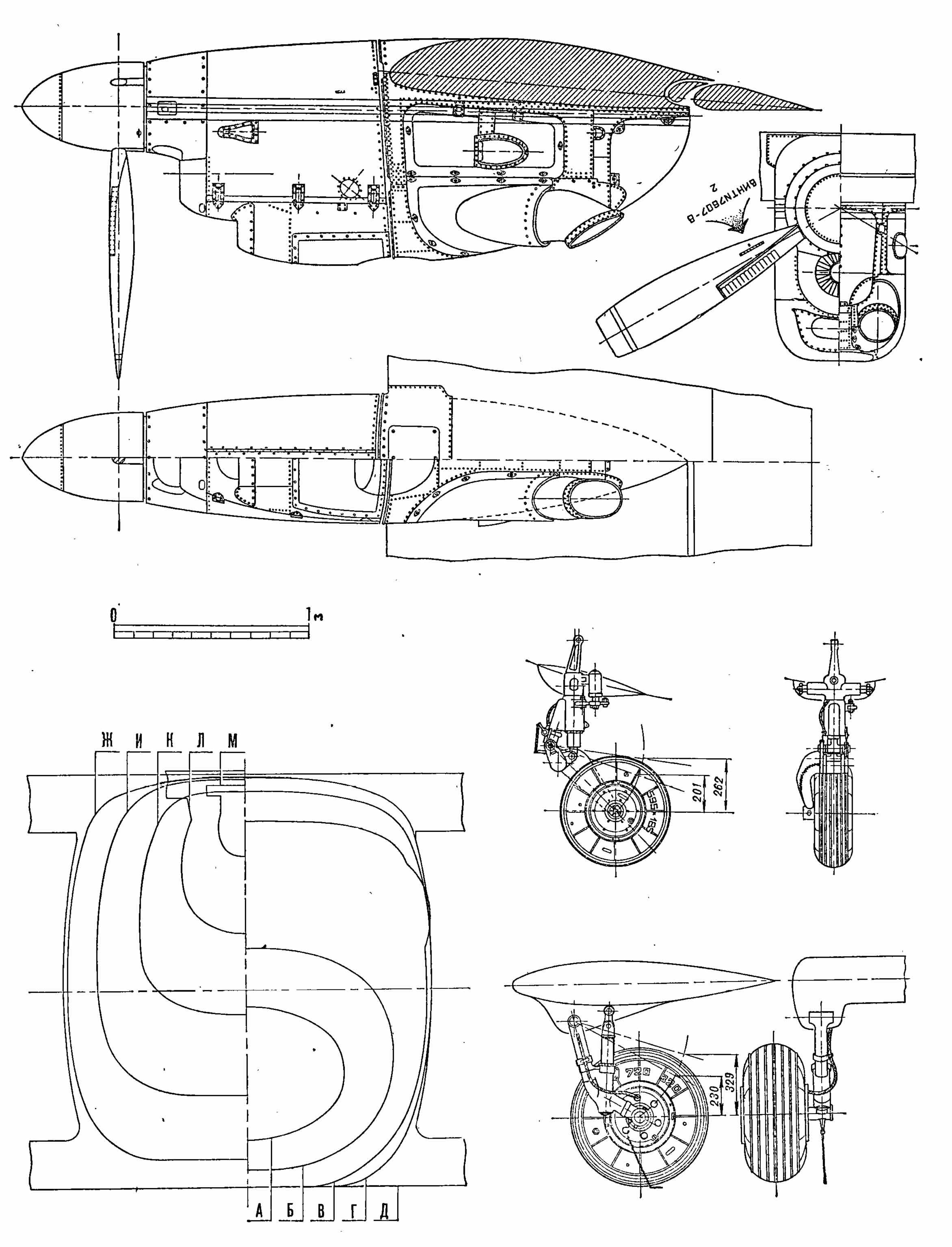 AN-28 blueprint