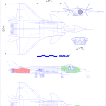 Chengdu J-20 blueprint