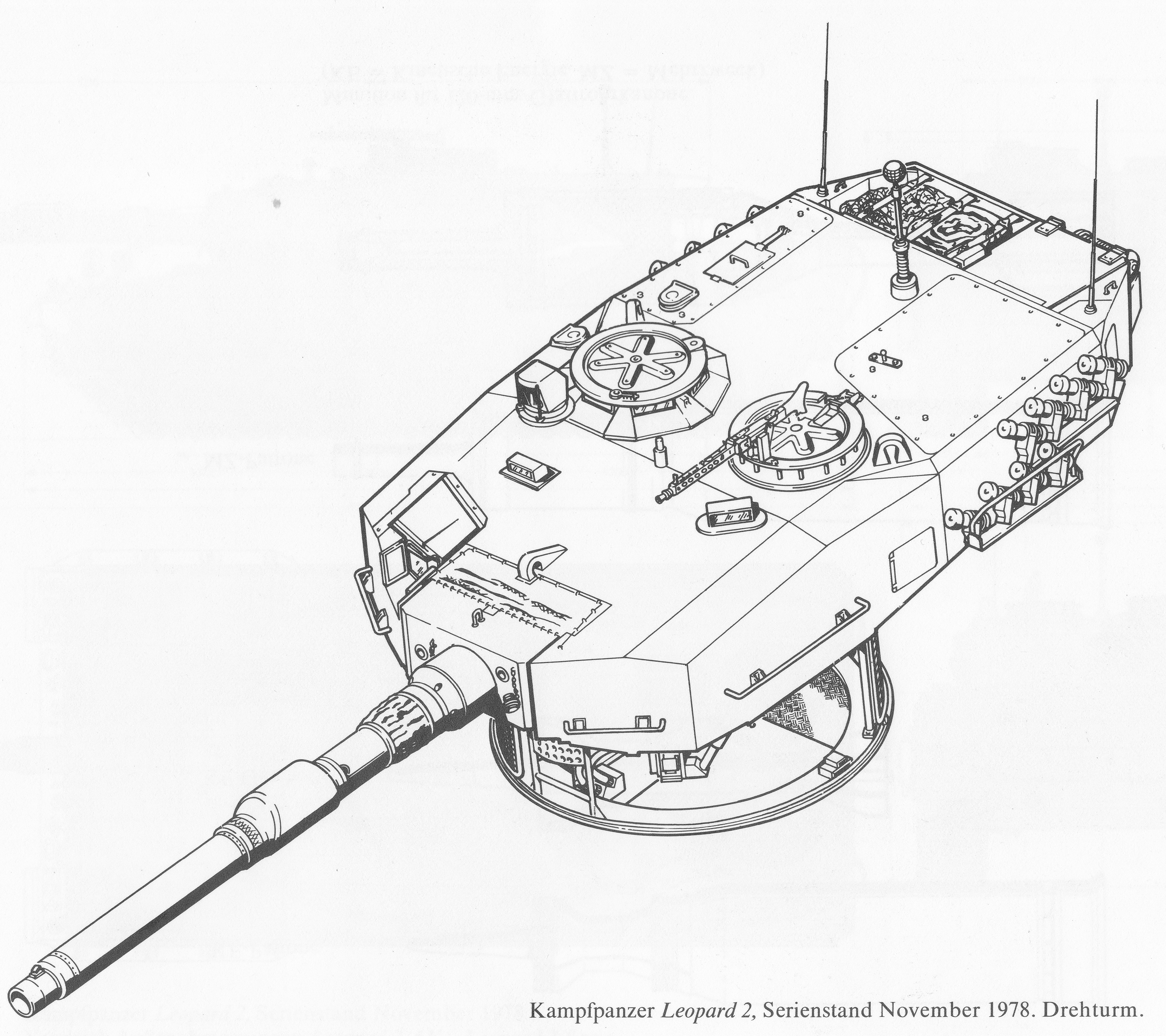 leopard 2 a0 a1 spoiler alert image intensive page 13 105Mm Tank Round Fired Practice k fpanzer leopard 2 serienstand novemb