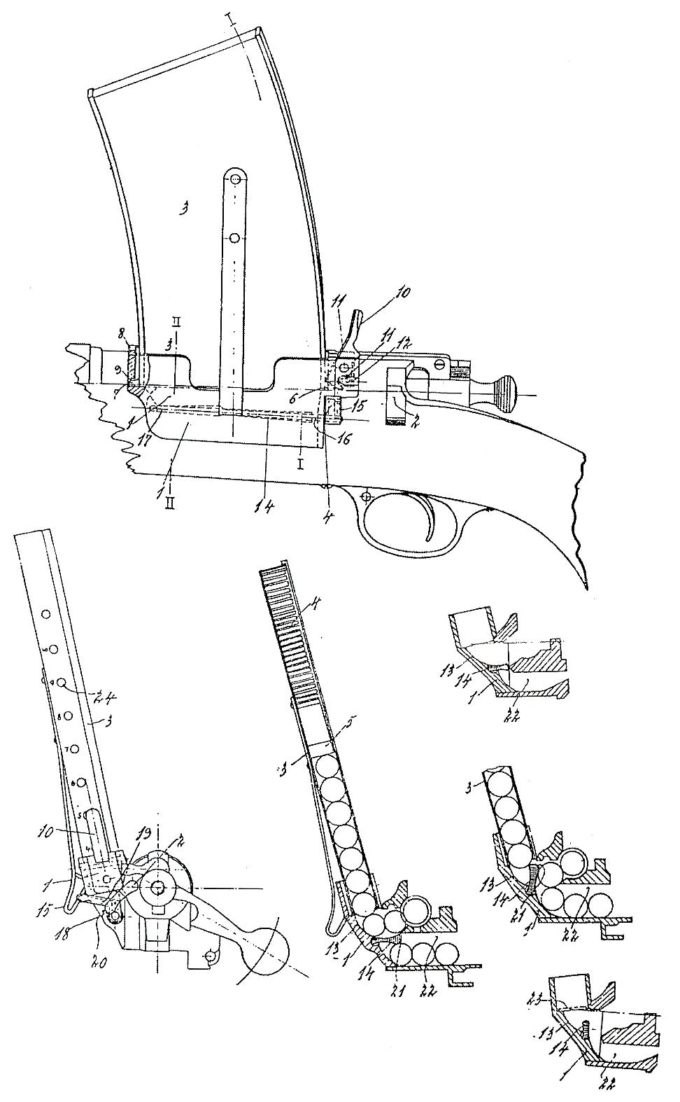 Krag-Jorgensen blueprint