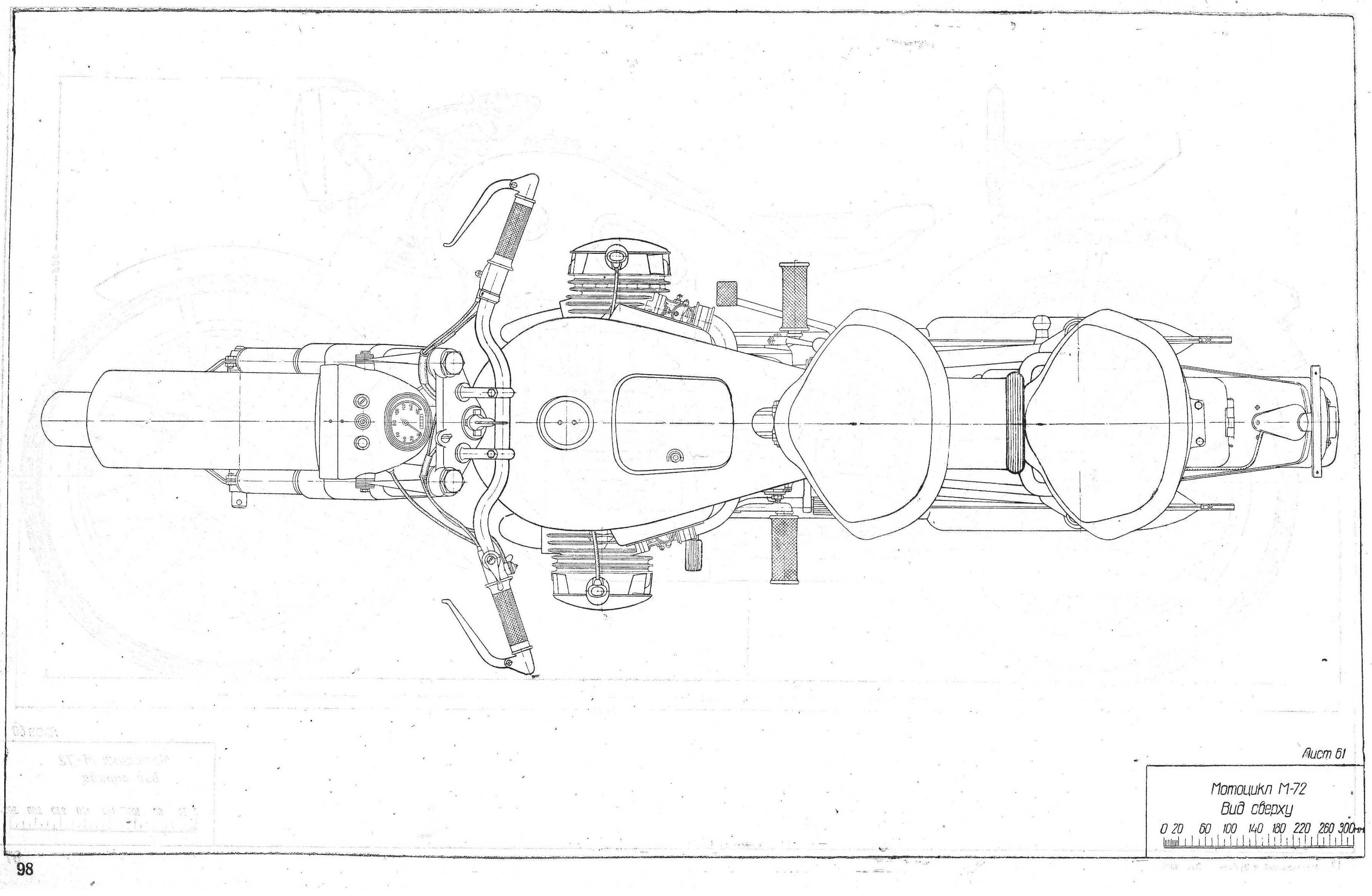 Dnepr M-72 blueprint