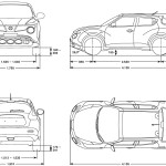 Nissan Juke blueprint