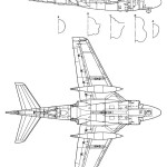 Grumman A-6E Intruder blueprint