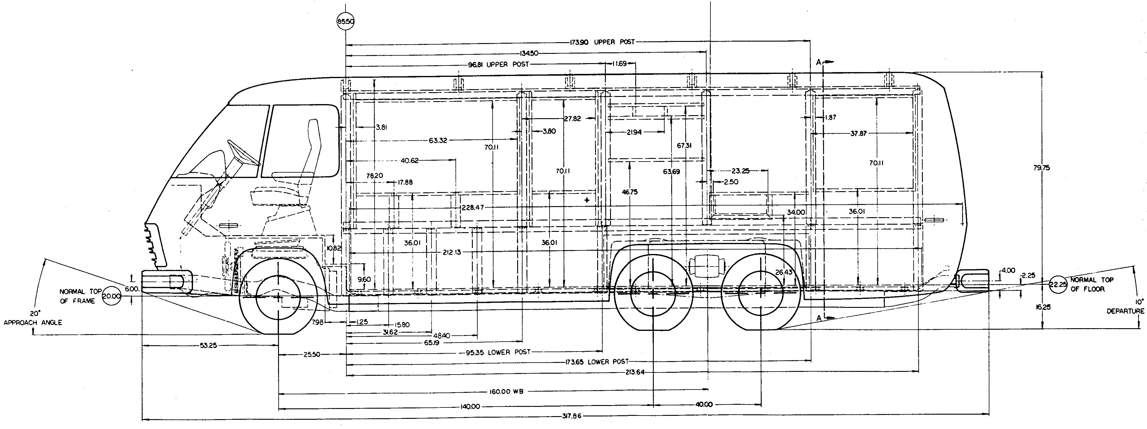 Gmc Motorhome Blueprint Download Free Blueprint For 3d