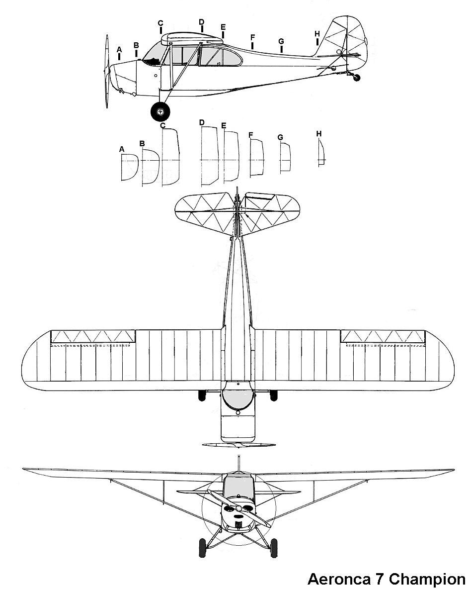Aeronca Champion blueprint