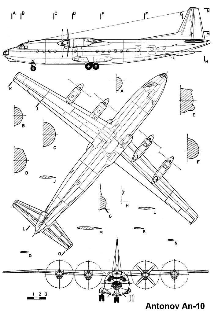 An-10 blueprint
