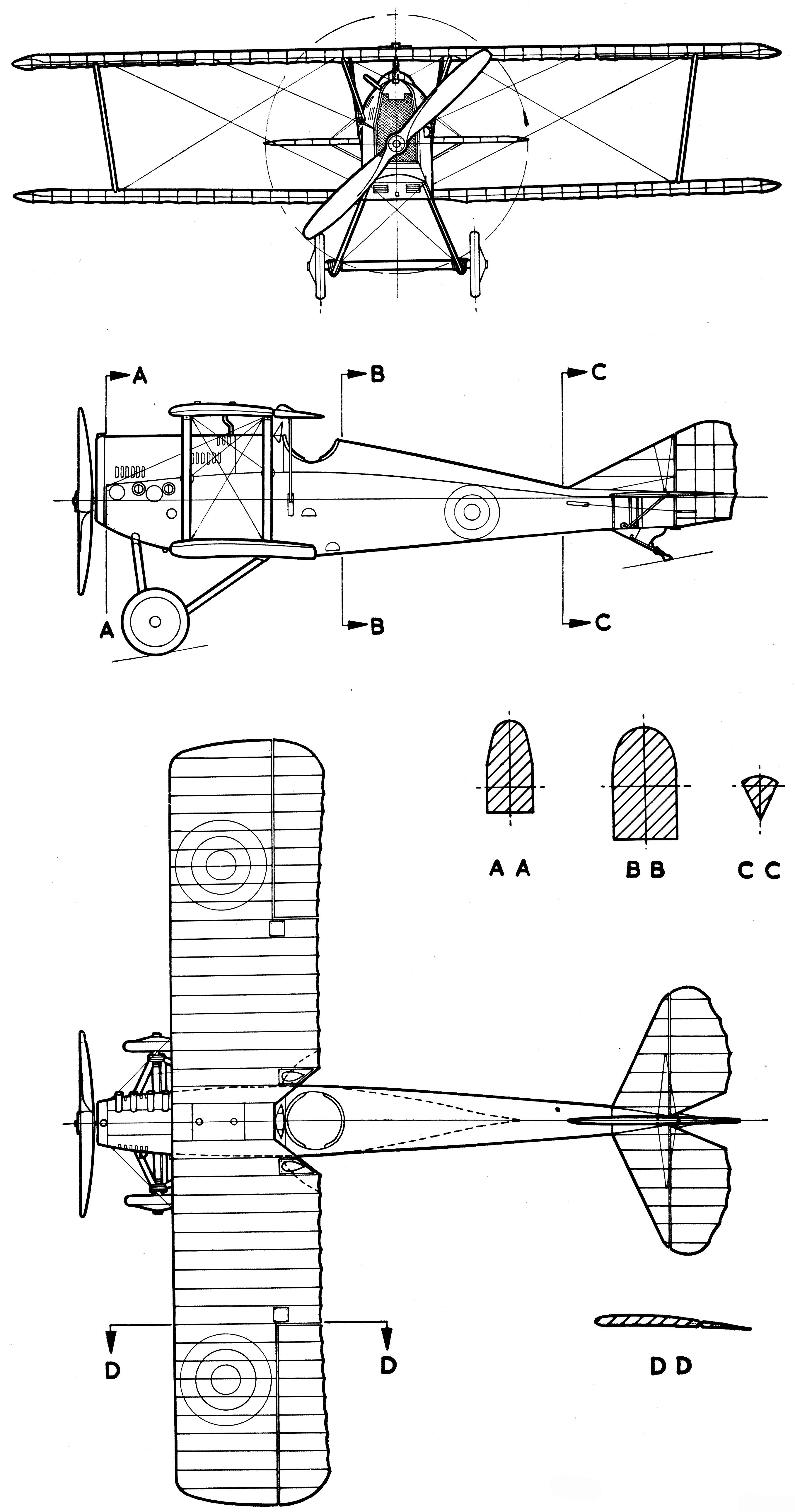 Ansaldo A.1 Balilla blueprint