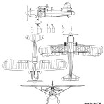 Arado Ar 76 blueprint