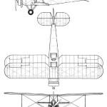 Avro 643 Cadet blueprint