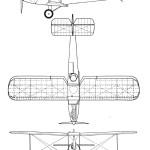 Avro 594 Avian III blueprint