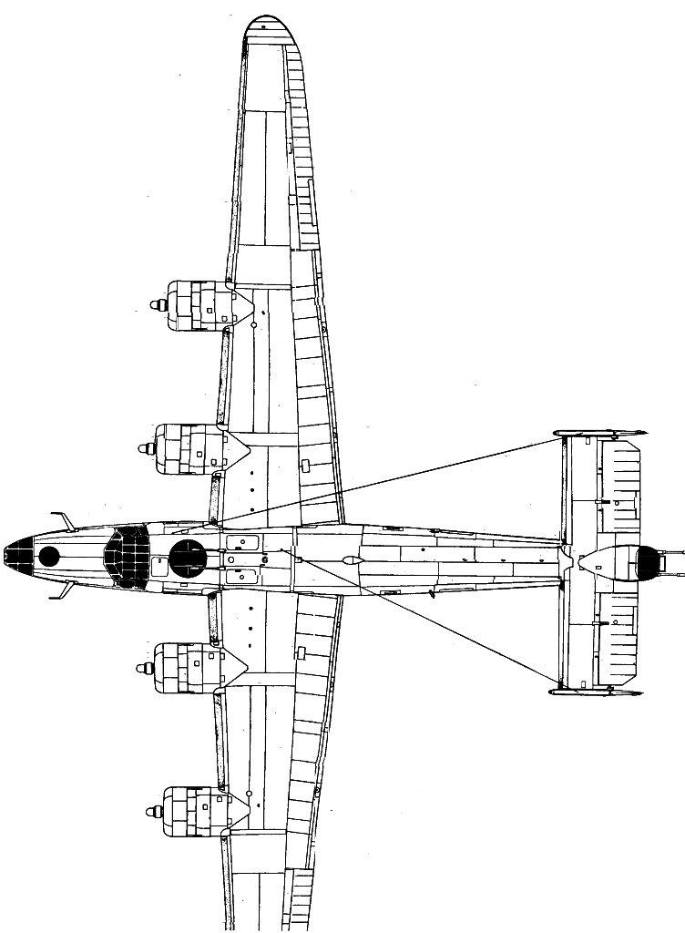 B-24 Liberator blueprint