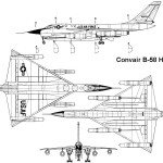 B-58 Hustler blueprint